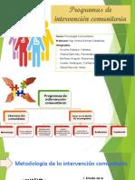 Programas de Intervención Comunitaria EXPO