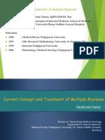 ROICAM2015 Current Concept & Treatment of MM