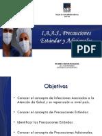 4. TEB - IAAS, Precauciones Estandar y Adicionales