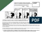 TALLER DE RECUPERACIÓN DE RELIGIÓN GRADOS 6°