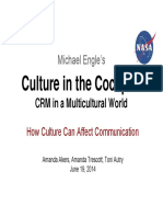 Culture in the Cockpit - CRM in a Multicultural World