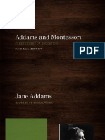 Addams & Montessori