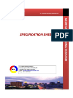7. Specification Sheet NGR