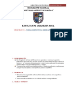 PRÁCTICA N° 3.  FUERZA HIDROSTÁTICA SOBRE SUPERFICIES PLANAS