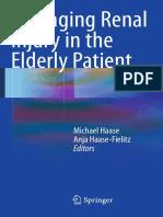 Managing Renal Injury in the Elderly Patient