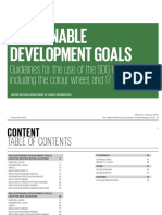 UN Guidelines for Use of SDG Logo and 17 Icons