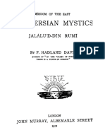 The Persian Mystics - JalaluD-Din Rumi.pdf