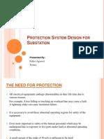 Protection System Design for Substation