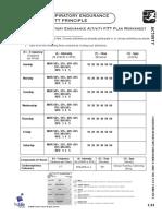 fitt worksheet