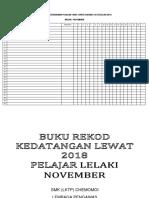 Buku Lewat 2018