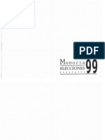 1.999 Memoria Elecciones Generales, TSE Guatemala
