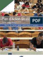 Plan d'action stratégique de l'UAG 2009 2013 Volet Gouvernance