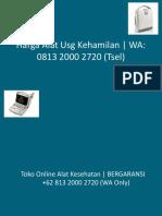 Alat USG Kandungan | BERGARANSI +62 813 2000 2720 (WA Only)
