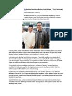 Motivator Indonesia Ippho Santosa Bahas Soal Maaf