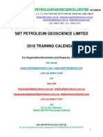 SBT Petroleum 2018 Training Brochure