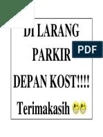 Print Dilarang