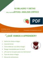 Presentacion Dietas Milagro e Dietas Alternativas