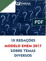 10 Redações Modelo