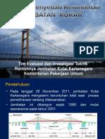 Evaluasi Penyebab Keruntuhan Jembatan KUKAR (Kemen. PU)
