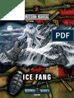 Weird War II Mission Manual Ice Fang