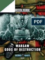Weird War II Mission Manual Warsaw - Gods of Destruction