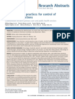 Promoting Best Practices for Control of Resporatori Infektions