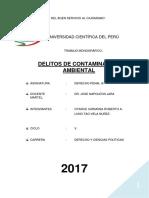 Delitos Ambientales- Penal III