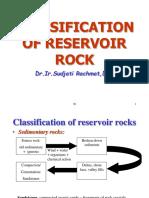 03 Classification of Reservoir Rock
