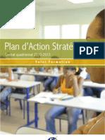 Plan d'action stratégique de l'Université des Antilles et de la Guyane 2009 2013 Volet Formation