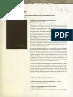Critical Editions Catalogue Rossini