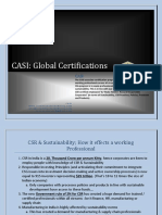 CASI Associate Program Brochure
