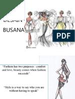 Desain Busana Rok