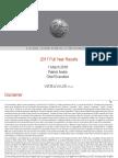 2017 FY Results Presentation