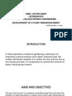Imeh Project Proposal Presentation