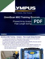 MX2 Training Program 14C Phased Array Analysis-Length Sizing