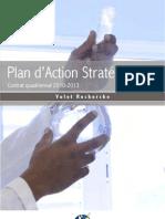 Plan d'action stratégique de l'Université des Antilles et de la guyane 2009 2013 Volet Recherche