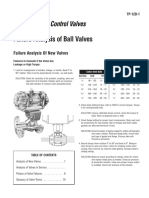Failure Analysis of Ball Valves