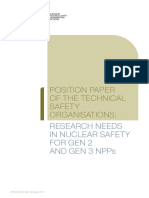 ETSON_Position Paper Research Needs