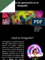 Elementos de Apreciación Artística en La Fotografía