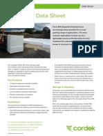 Filcor Data Sheet v2 Cordek