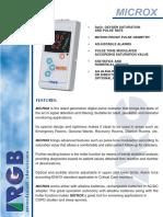 RGB Microx Brochure