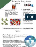 Consumul Si Abuzul de Substante Toxice
