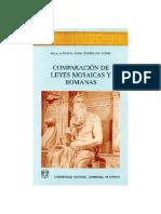 Comparacion de Leyes Mosaicas y Romanas 01