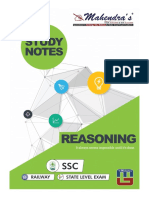 Study Notes Reasoning Eng Ssc 22-03-18