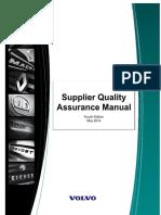 Volvo Supplier Quality Assurance Manualpdf