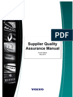 Volvo Supplier Quality Assurance Manualpdf