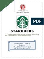 Case 3 Starbucks