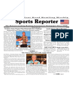 March 28 - April 3, 2018  Sports Reporter