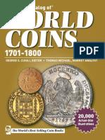 World Coins 1701-1800