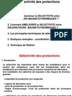 3 Sélectivité Protection